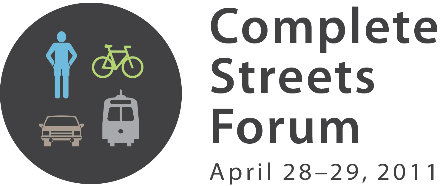 Complete Streets Forum 2011 Logo