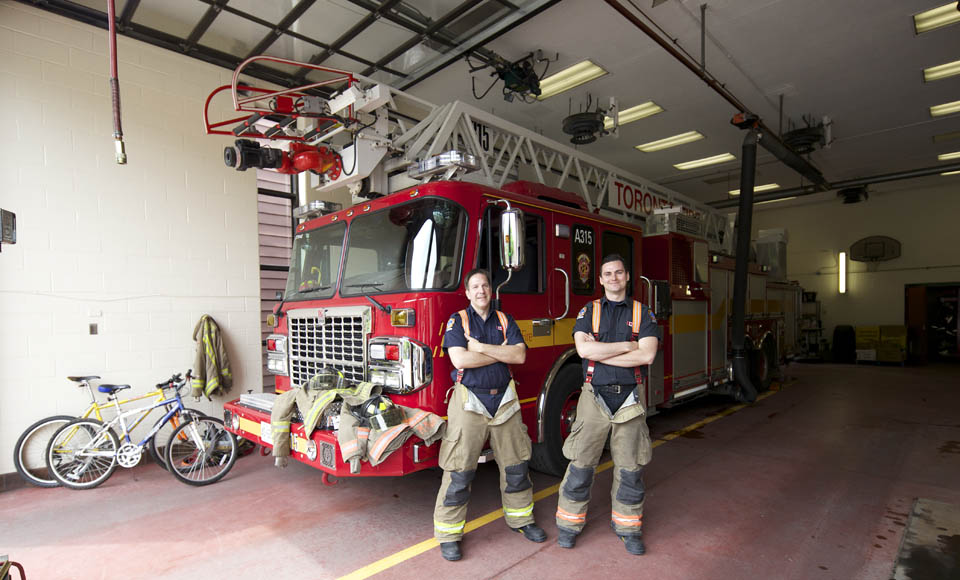 Wheels on fire: Firefighters like bikes, promote safety