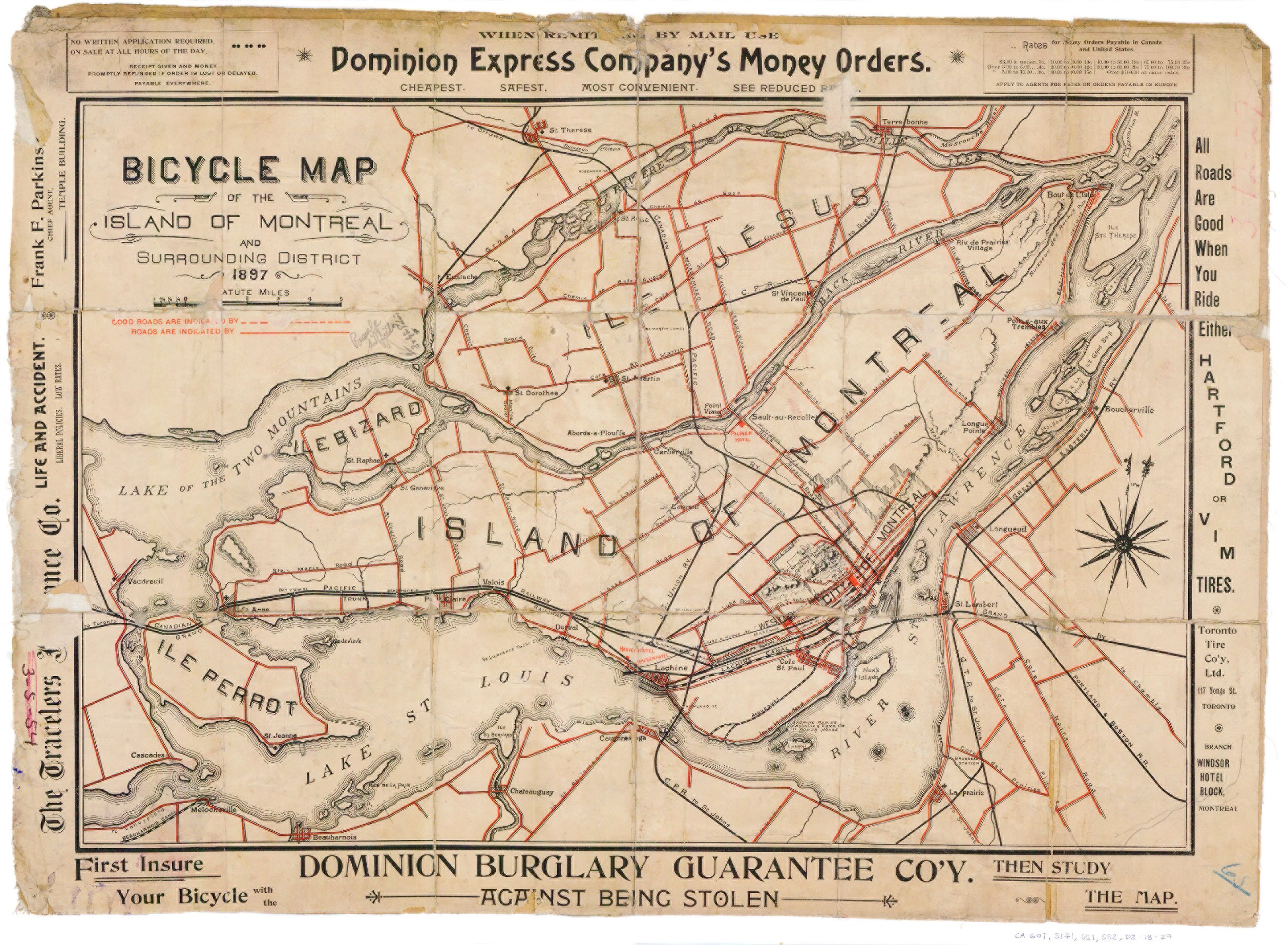 Flashback Friday Mapping The Future Of Bike Lanes In Montreal C - Old montreal map