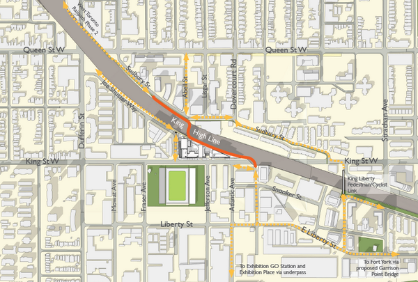 Introducing the    King    High Line  New railtotrail project