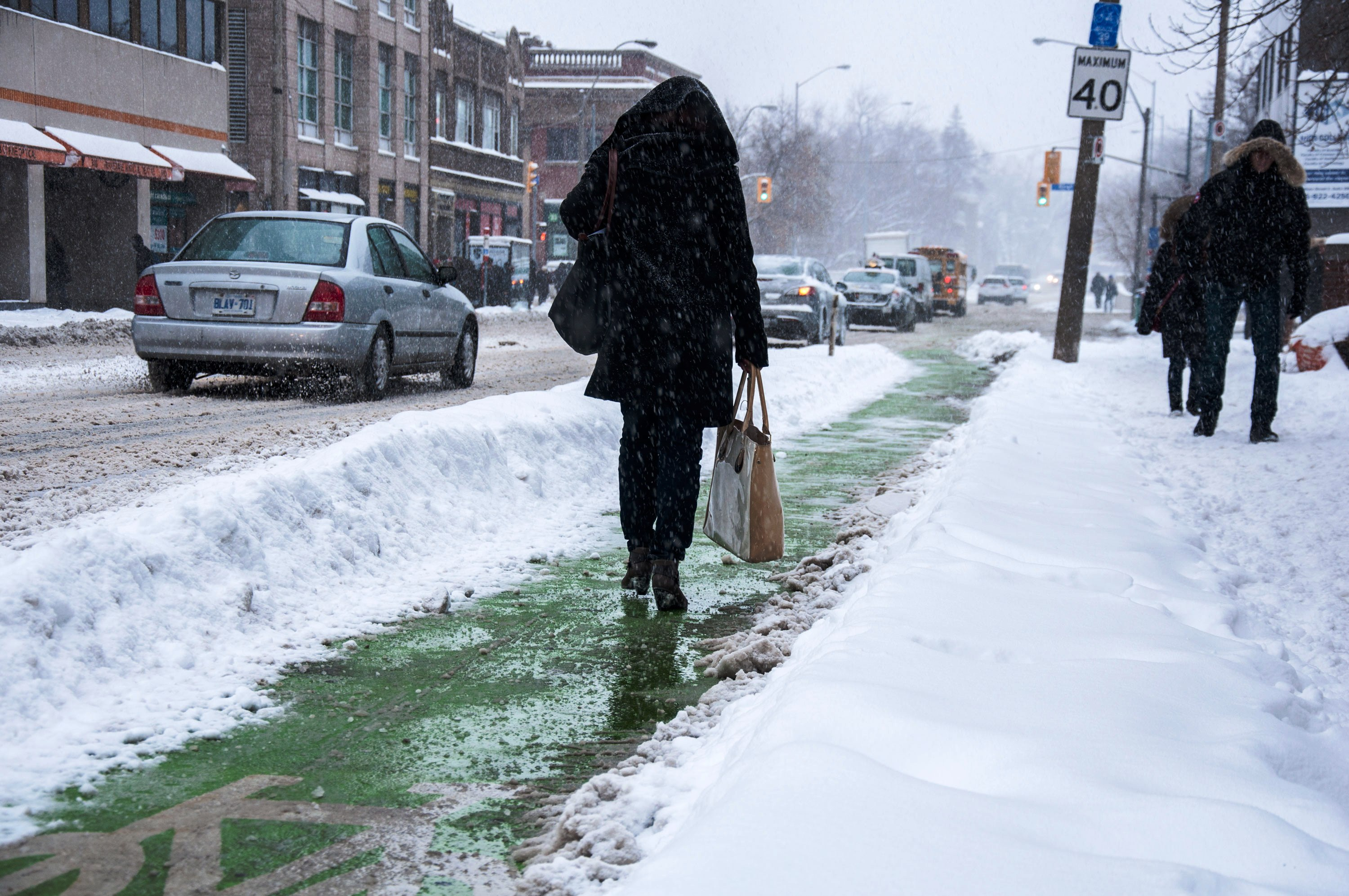 The City S Plan For Winter Clearance Of Bike Lanes
