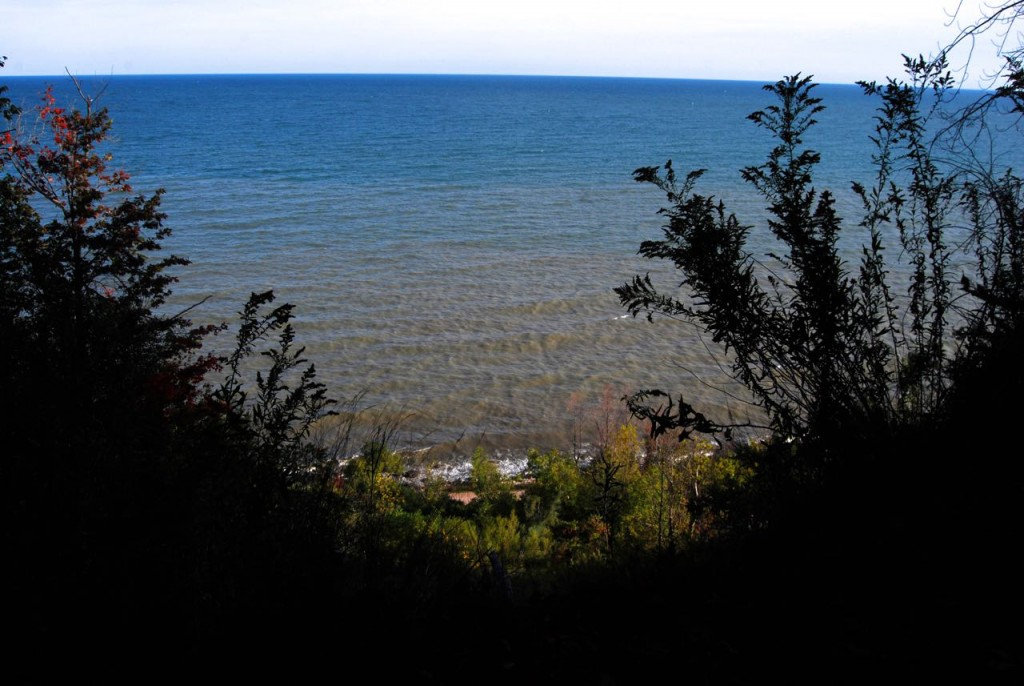 1. Cliff Overlooking the lake