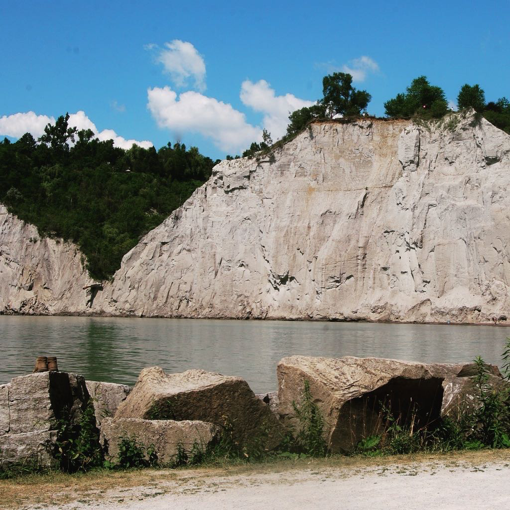 6. Scarborough bluffs**