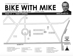 Bike with Mike 2016 Layout
